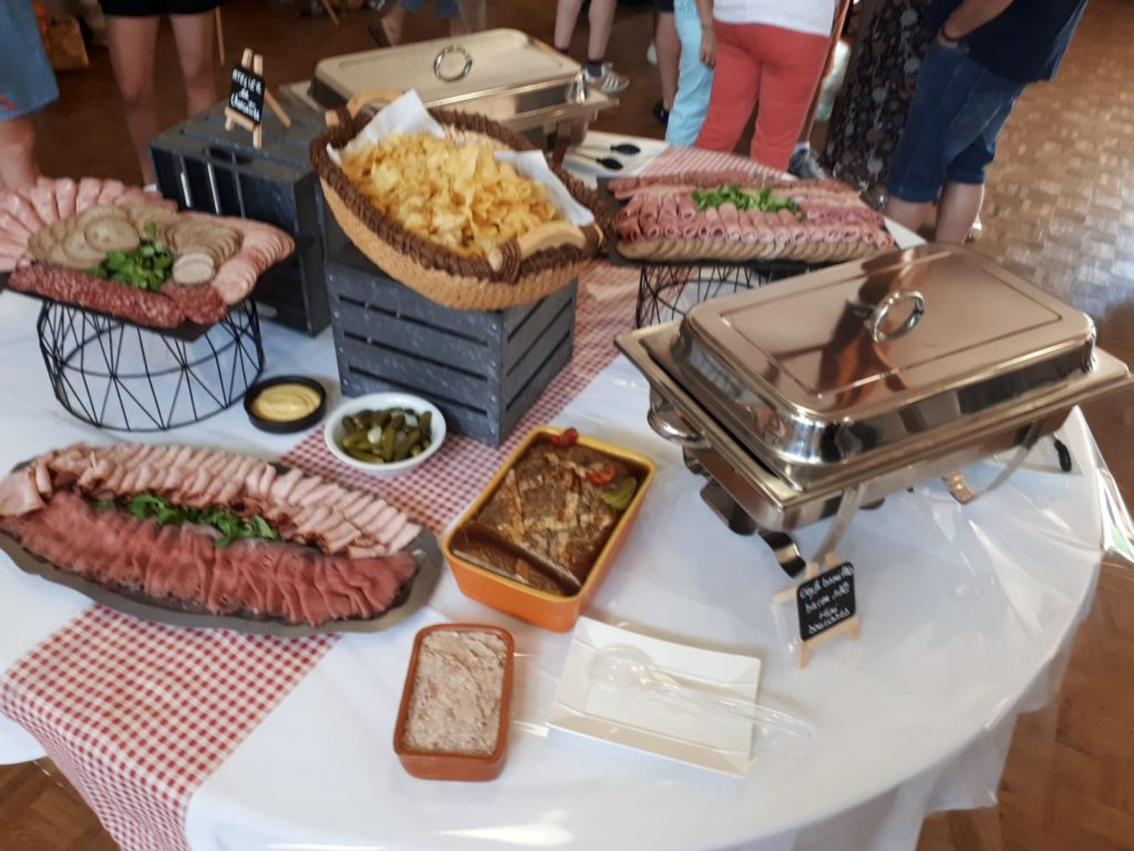 brunch mariage - charcuterie
