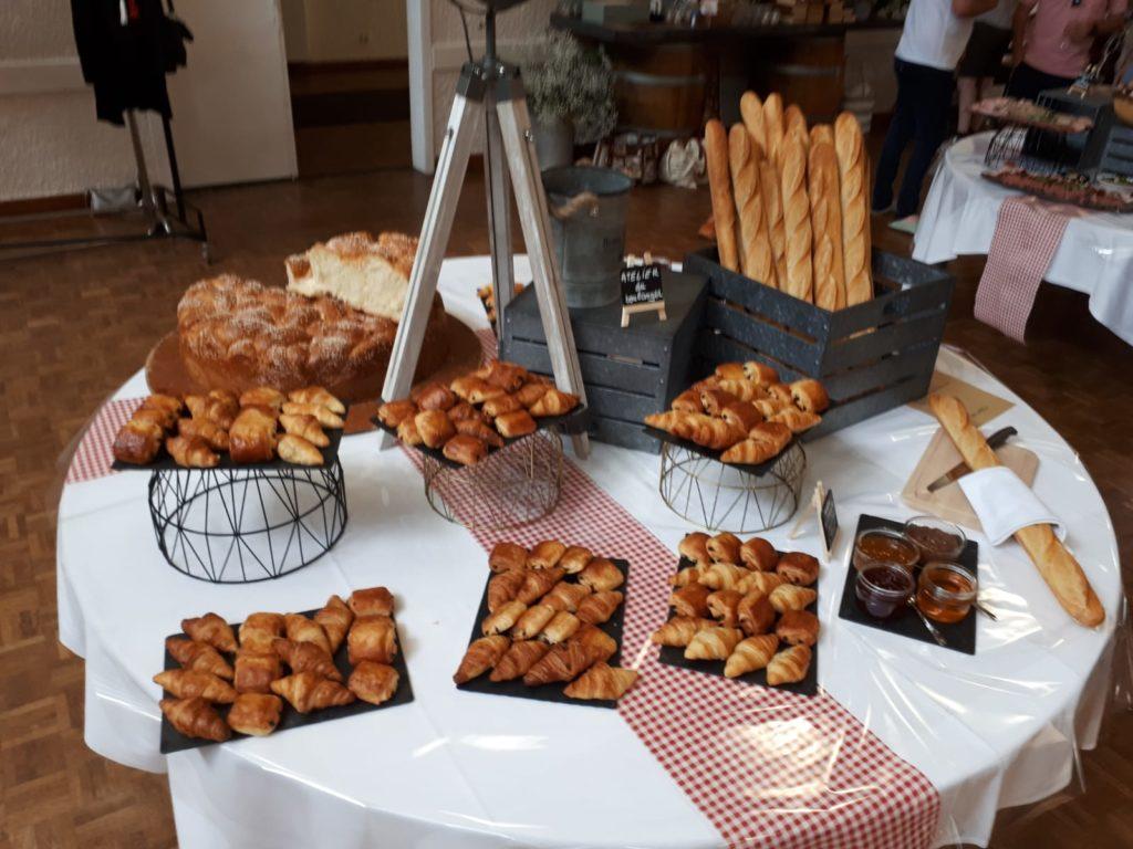 brunch mariage - viennoiserie